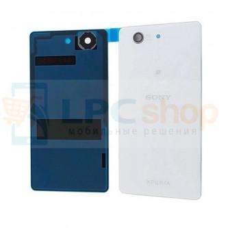 Крышка(задняя) Sony Xperia Z3 Compact D5803 Белый