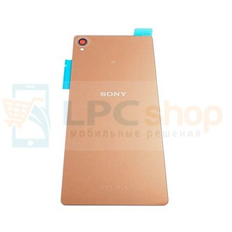 Крышка(задняя) Sony Xperia Z3 Dual D6633 Золото
