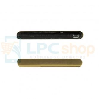 Заглушка для SIM и MicroSD Sony Xperia Z5 Premium Dual (E6833, E6883) Золото
