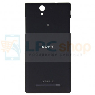 Крышка(задняя) Sony Xperia C3 D2533 / C3 Dual D2502 Чёрная