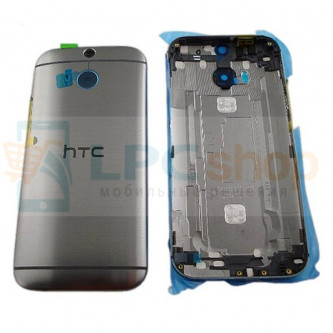 Крышка(задняя) HTC One M8 / One M8 Dual Серый