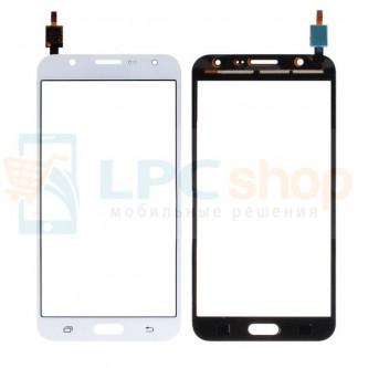 Тачскрин (сенсор) для Samsung Galaxy J7 J700F Белый