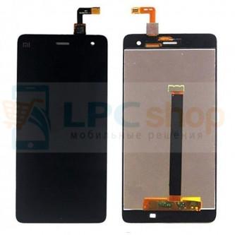 Дисплей для Xiaomi Mi4 в сборе с тачскрином Черный