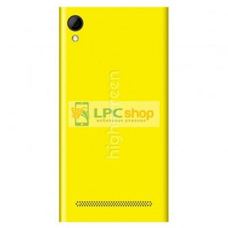 Крышка(задняя) Highscreen Pure F Желтая