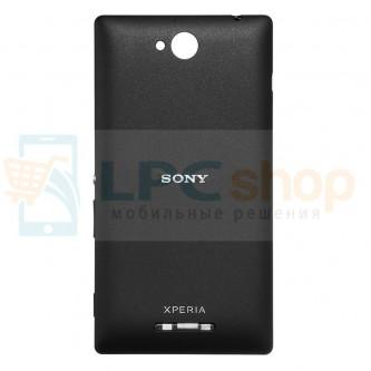 Крышка(задняя) Sony Xperia C (C2305) Черный