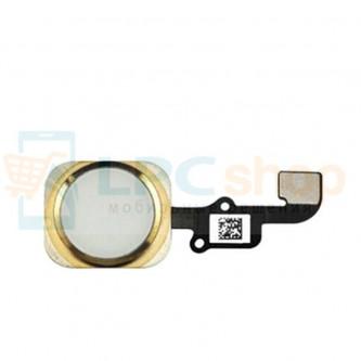 Шлейф iPhone 6 / 6 Plus на кнопку HOME в сборе Золото