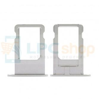 Лоток SIM iPhone 6 Серебро