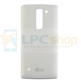 Крышка(задняя) LG Spirit H422 Белая