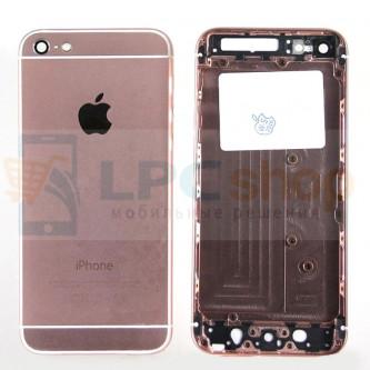 Корпус iPhone 5 дизайн Iphone 6 Розовый