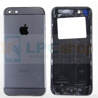 Корпус iPhone 5 дизайн Iphone 6 Черный