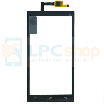 Тачскрин (сенсор) для Micromax AQ5001 Canvas Power Черный