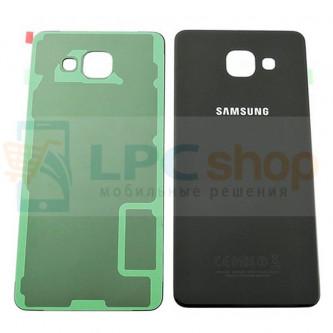 Крышка(задняя) Samsung Galaxy A5 (2016) A510F Черный
