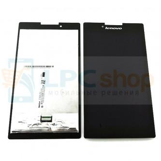 Дисплей для Lenovo TAB 2 A7-30 в сборе с тачскрином Черный