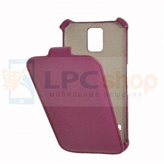 Чехол-книжка Samsung Galaxy S5/i9600 фиолетовый