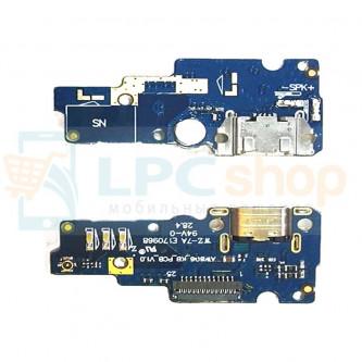 Шлейф разъема зарядки Asus ZenFone Go (ZC500TG) (плата) и микрофона
