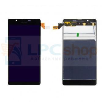 Дисплей для Microsoft 540 Dual (RM-1141) модуль Черный - Оригинал