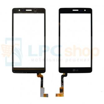 Тачскрин (сенсор) для LG Max X155 Черный