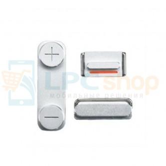 Кнопка включения / вибро / громкость iPhone 5S Серебро