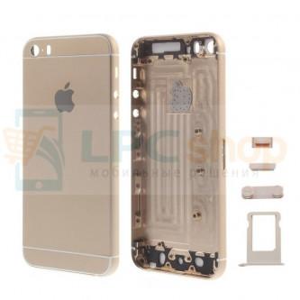 Корпус iPhone 5S дизайн Iphone 6 Золото