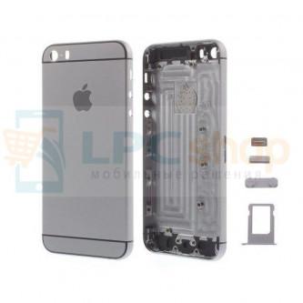 Корпус iPhone 5S дизайн Iphone 6 Черный