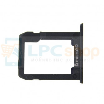 Лоток MicroSD Samsung Galaxy Tab S2 T810,T815 LTE / Tab A 9.7 T550,T555 LTE Черный