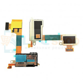 Шлейф Sony Xperia M2 Aqua D2403 на разъем SIM и MicroSD