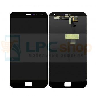 Дисплей для Meizu MX4 Pro в сборе с тачскрином Черный