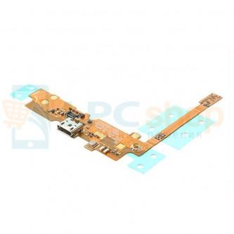 Шлейф разъема зарядки LG D320 / D280 (L70 / L65) (плата) и микрофона