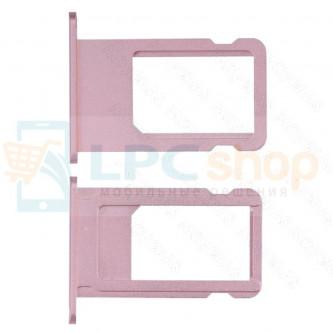 Лоток SIM iPhone 6S Розовое Золото