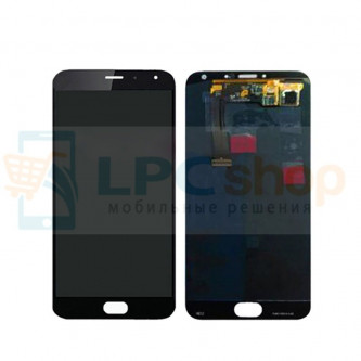 Дисплей для Meizu MX5 в сборе с тачскрином Черный