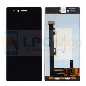 Дисплей для Lenovo Vibe Shot Z90 в сборе с тачскрином Черный