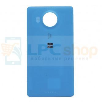 Крышка(задняя) Microsoft Lumia 950 XL (RM-1085) Синяя