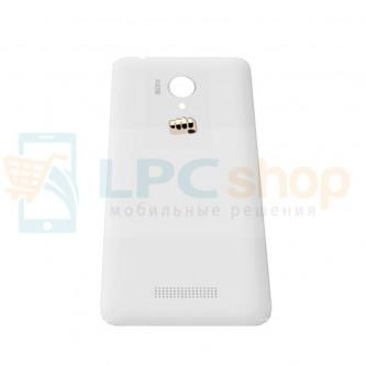 Крышка(задняя) Micromax Q380 Canvas Spark Белая
