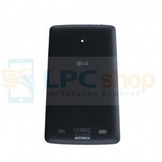 Крышка(задняя) LG V400 (G Pad 7.0) Чёрная