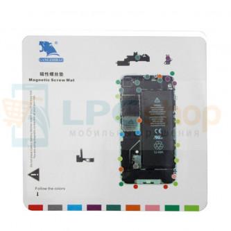 Магнитный коврик (Screw Magnetic mat) для iPhone 4