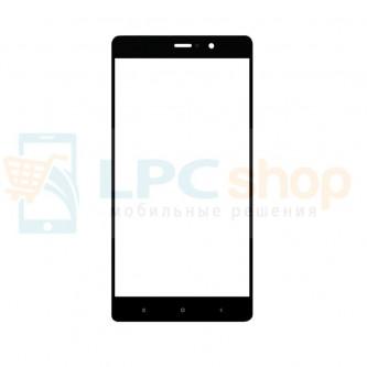 Стекло (для замены / переклейки) Xiaomi Mi5s Plus Черное