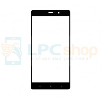 Стекло (для переклейки) Xiaomi Mi 5s Plus Черное