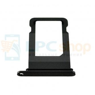 Лоток SIM iPhone 7 Plus Черный