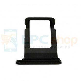 Лоток SIM iPhone 7 Plus Черный Оникс