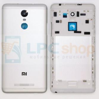 Крышка(задняя) Xiaomi Redmi Note 3 Pro Серебро