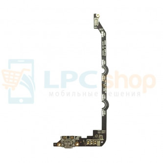 Шлейф Asus ZE550KL ZenFone 2 Laser плата на системный разъем/микрофон