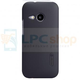 "Чехол накладка Nillkin ""Frosted"" для HTC One Mini 2 - Черный"