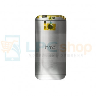Крышка(задняя) HTC One M8s Серебро