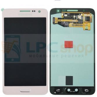 Дисплей для Samsung Galaxy A3 A300F в сборе с тачскрином Розовый - Оригинал