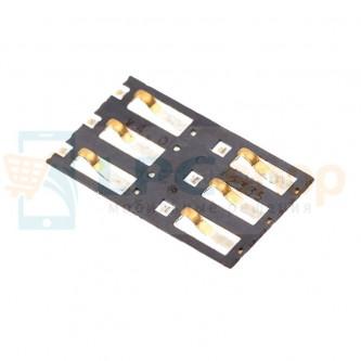 Коннектор SIM-Карты Nokia 800 / 900 / 920 / 925 / 301 / 301 Dual