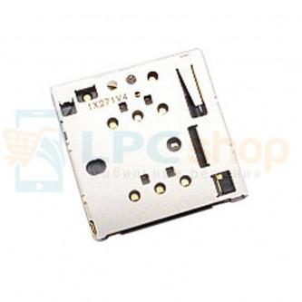 Коннектор SIM-Карты Nokia 820 / 630 / 630 Dual / 635 / 502 Dual / 503 Dual / 730 Dual / X2 Dual