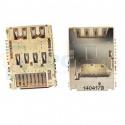 Коннектор SIM-Карты+MicroSD LG D618 / D855 / D690 / D724 / G4 H818 / D335 / H522Y G4C (G2 Mini / G3 / G3 Stylus / G3s / L Bello)