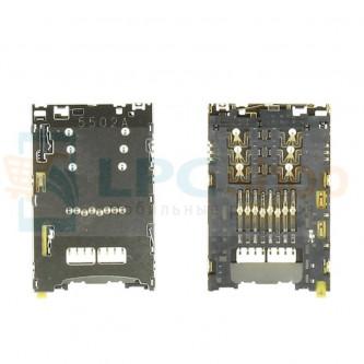 Коннектор SIM-Карты+MicroSD Sony Xperia Z5 E6653 / E6853 / E6553 (Z5 Premium / Z3+)