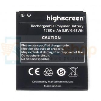 Аккумулятор для Highscreen Omega Prime S