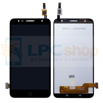 Дисплей для Alcatel OT-5056D (Pop 4 Plus) в сборе с тачскрином Черный